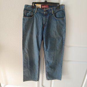Levis Strauss 550 Sz 14 Husky 33 X 28 Womens Jeans